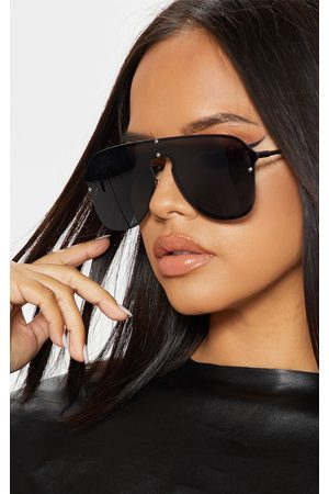 PRETTYLITTLETHING Women Aviators - Oversized Aviator Sunglasses