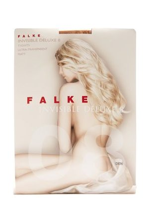 Women Stockings - Falke - Invisible Deluxe 8 Denier Tights - Womens - Nude