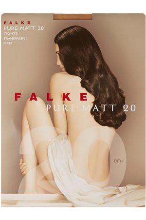 Falke Women Stockings - Pure Matte 20 Denier Tights - Womens - Nude