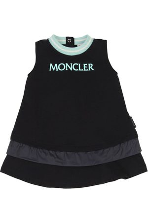 Moncler Logo Cotton Sweat Dress