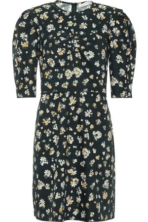 Chloé Floral-printed cotton dress