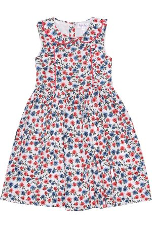 Rachel Riley Floral printed cotton dress