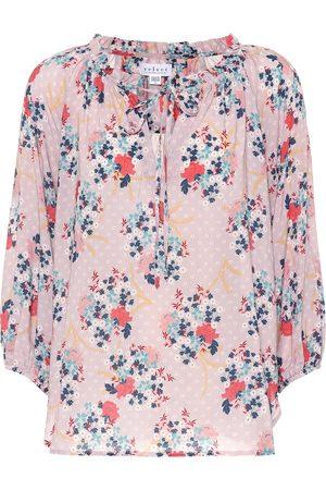 Velvet Sharla floral printed top