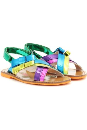 SOPHIA WEBSTER Andie Bow leather sandals