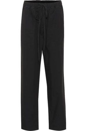 Velvet Megara cotton poplin straight pants