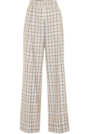 See by Chloé Checked high-rise straight pants