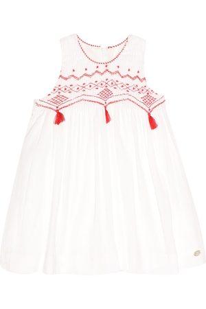 Tartine Et Chocolat Embroidered cotton dress