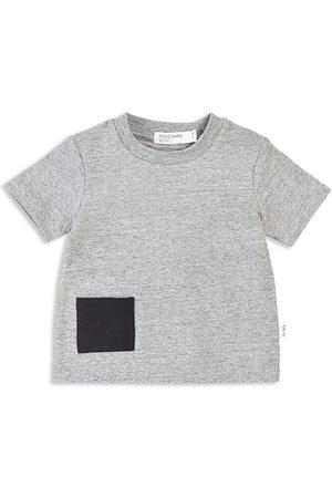 Miles Child Unisex Short Sleeve Patch Tee - Little Kid