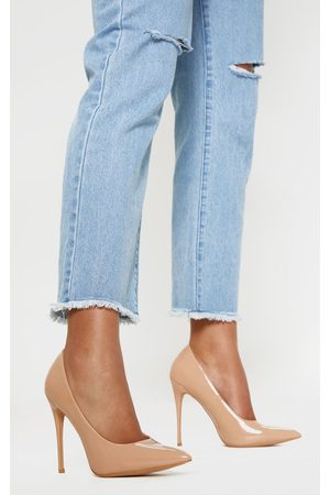 PRETTYLITTLETHING Light Nude Court Shoe