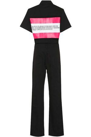 Calvin Klein Jumpsuits - Cotton denim jumpsuit