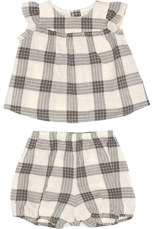 BONPOINT Lilou blouse and bloomers set