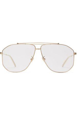Gucci Aviator Metal Glasses - Mens