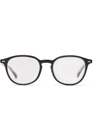 Gucci Round Frame Acetate Glasses - Mens