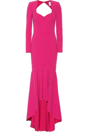 Rebecca Vallance Delilah crêpe gown