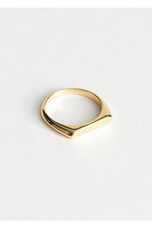 & OTHER STORIES Flat Top Ring