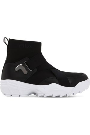 Fila Mfw01 Wmn Logo Nylon Sneakers