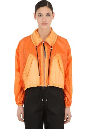 Kenzo Cropped Nylon Windbreaker Jacket