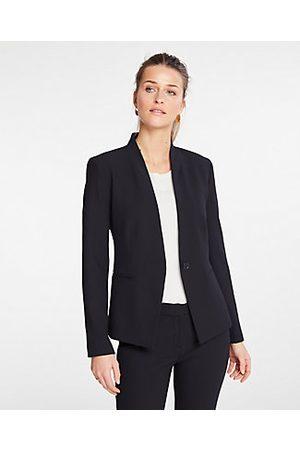 ANN TAYLOR The Petite Cutaway Blazer in Bi-Stretch Size 00 Women's