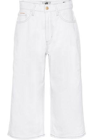 Eytys Boyle Twill high-rise wide-leg jeans