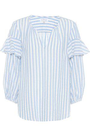 Velvet Jaida cotton-blend top