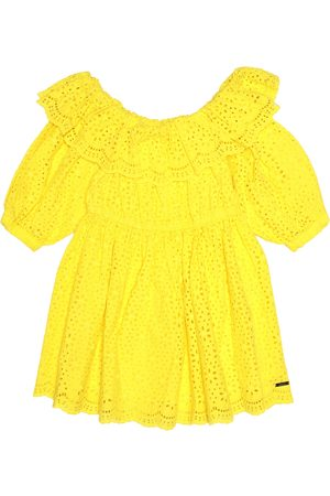 Msgm Broderie anglaise cotton dress