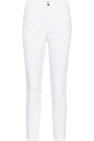 Frame Women High Waisted - Le Sylvie high-rise straight jeans