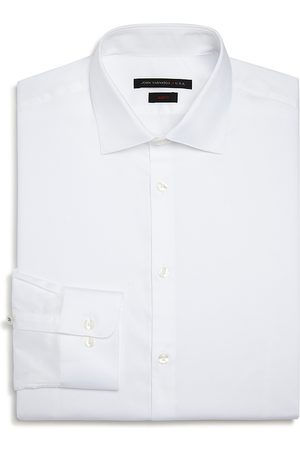 John Varvatos Solid Slim Fit Dress Shirt