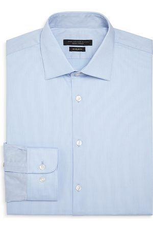 John Varvatos Micro-Stripe Regular Fit Dress Shirt
