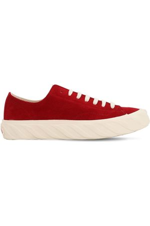 AGE - ACROSS TO GENUINE ERA Cotton Canvas Sneakers