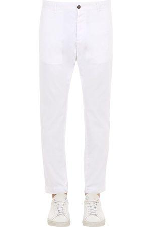 Dsquared2 16.5cm Tidy Biker Cotton Canvas Pants