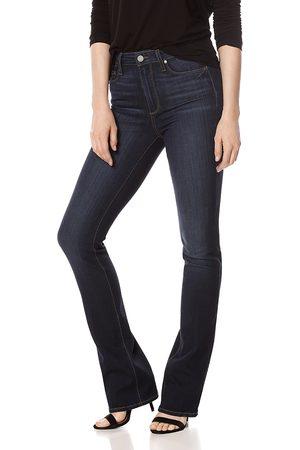 Paige Manhattan Bootcut High-Rise Jeans in Gardena