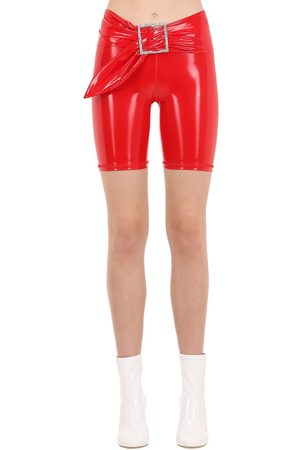 AYA MUSE Kenji Vinyl Biker Shorts