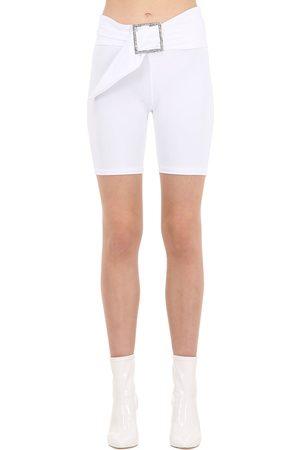 AYA MUSE Yukiko Micro Nylon Biker Shorts