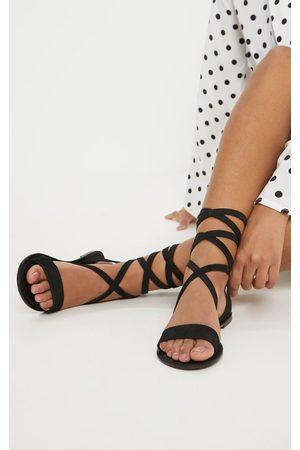 PRETTYLITTLETHING Women Sandals - Basic Leather Sandal