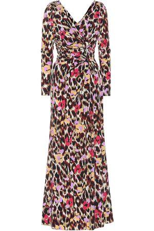 Roberto Cavalli Women Casual Dresses - Printed stretch jersey dress