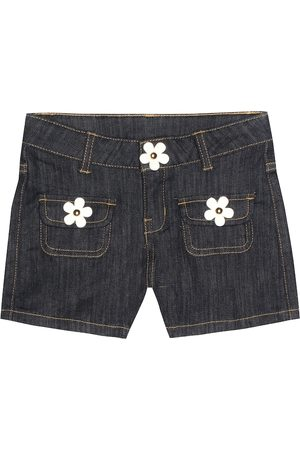 Marc Jacobs Embellished denim shorts