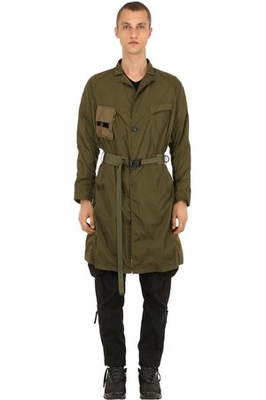 NILMANCE Military Pack Long Nylon Coat