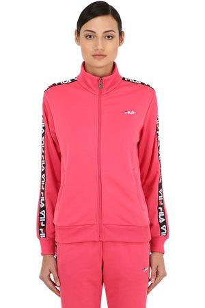 Fila Women Jackets - Talli Track Jacket W/ Logo Side Bands