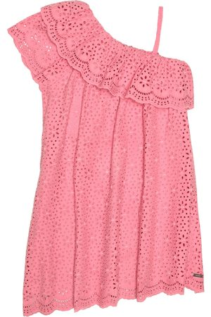 Msgm Cotton broderie anglaise dress