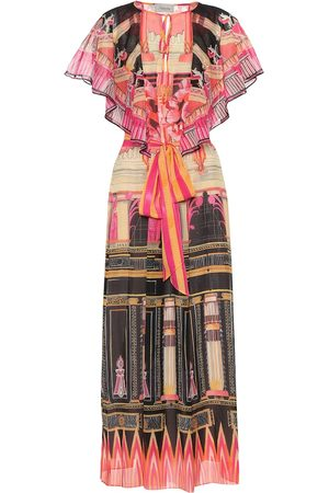 TEMPERLEY LONDON Athena printed chiffon kaftan