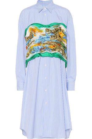 JUNYA WATANABE Cotton and silk shirt
