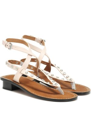 Isabel Marant Exclusive to Mytheresa – Jings embellished leather sandals