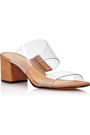 Schutz Women's Victorie Mid-Heel Slide Sandals