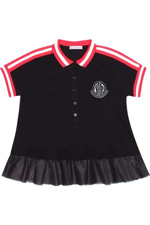 Moncler Stretch cotton pique dress