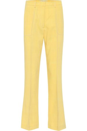 Etro High-rise flared pants