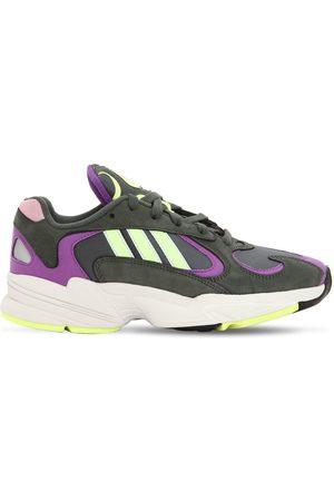 adidas Women Sneakers - Yung-1 Mesh & Suede Sneakers