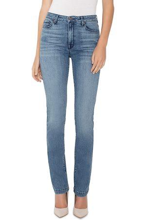 Parker Smith Bombshell Runaround Straight-Leg Jeans in Celeste