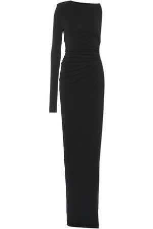 ALEXANDRE VAUTHIER Women Asymmetrical Dresses - Stretch jersey asymmetric dress