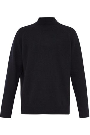 Raey Loose-fit Funnel-neck Cashmere Sweater - Mens - Navy