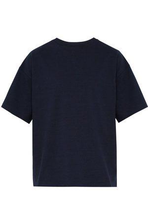 Raey Oversized Cotton-jersey T-shirt - Mens - Navy